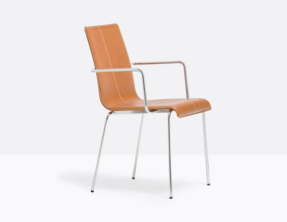 Kuadra 1285 by PEDRALI | Chairs