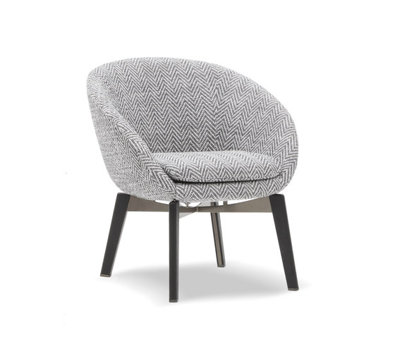 Russell by Minotti | Armchairs