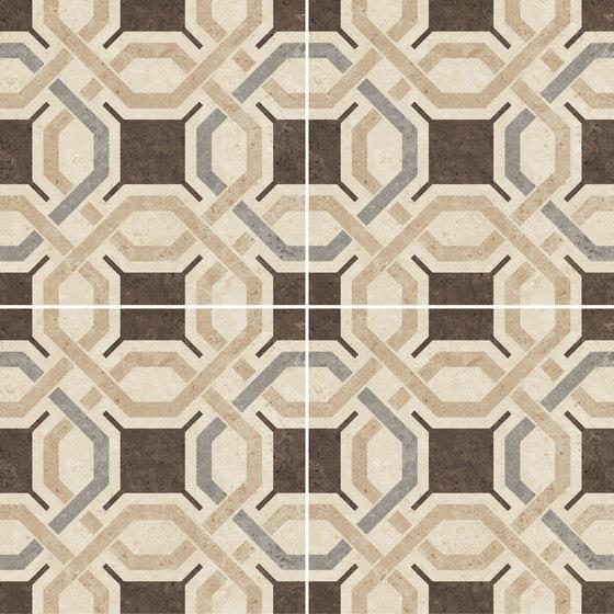 Déco | Optical | Beige by Novabell | Ceramic tiles