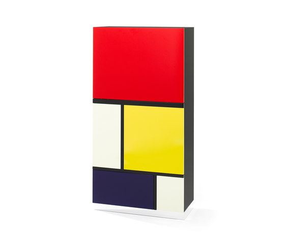 Mondrian Cabinet de Röthlisberger Kollektion | Aparadores