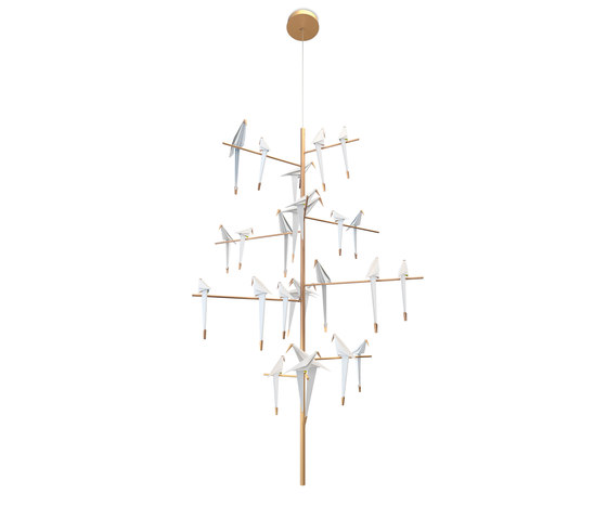 Perch Light Tree by moooi | Suspended lights