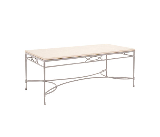 AMALFI STONE TOP COCKTAIL TABLE RECTANGLE 122 by JANUS et Cie | Coffee tables