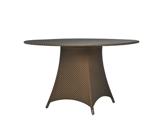 AMARI FULLY WOVEN DINING TABLE ROUND 130 by JANUS et Cie | Dining tables