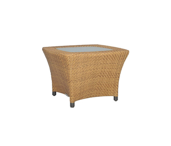 AMARI GLASS TOP COCKTAIL TABLE SQUARE 60 by JANUS et Cie   Coffee tables