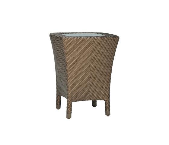 AMARI GLASS TOP SIDE TABLE 45 di JANUS et Cie | Tavolini alti