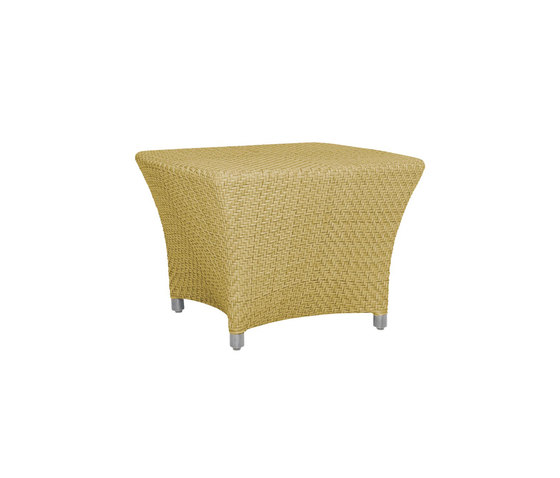 AMARI RATTAN FULLY WOVEN COCKTAIL TABLE SQUARE 60 by JANUS et Cie | Coffee tables