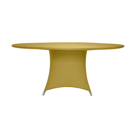 AMARI RATTAN FULLY WOVEN DINING TABLE ROUND 180 by JANUS et Cie | Dining tables