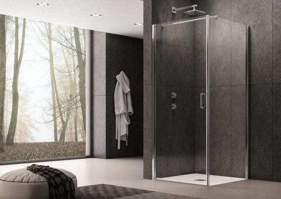 Claire Design Pivot door by Inda | Shower screens