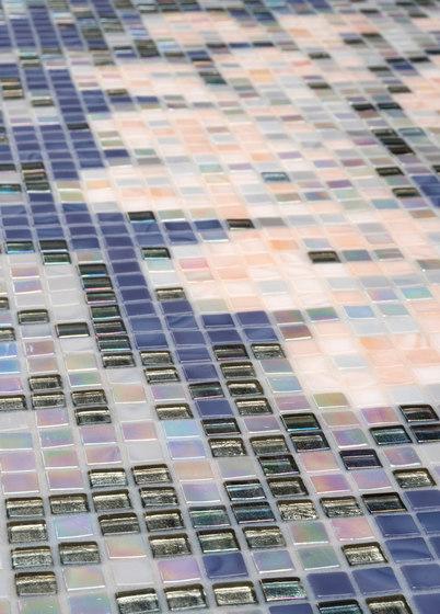 Ornamental Spring Blossom Decor 10x10 by Mosaico+ | Glass mosaics