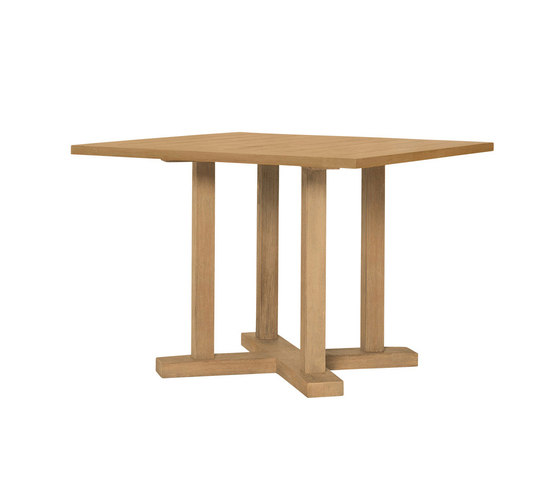 ARBOR DINING TABLE SQUARE 112 by JANUS et Cie | Dining tables
