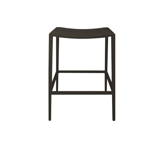 AZIMUTH BACKLESS COUNTER STOOL by JANUS et Cie | Bar stools
