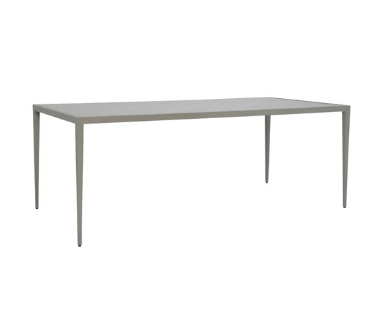 AZIMUTH CROSS DINING TABLE RECTANGLE 203 de JANUS et Cie | Tables de repas