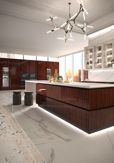 R01 Rosewood by Snaidero USA | Fitted kitchens
