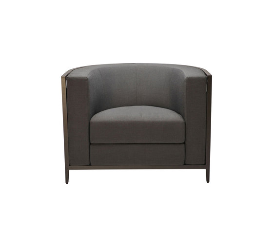 AZIMUTH LINEAR CLUB CHAIR von JANUS et Cie | Sessel