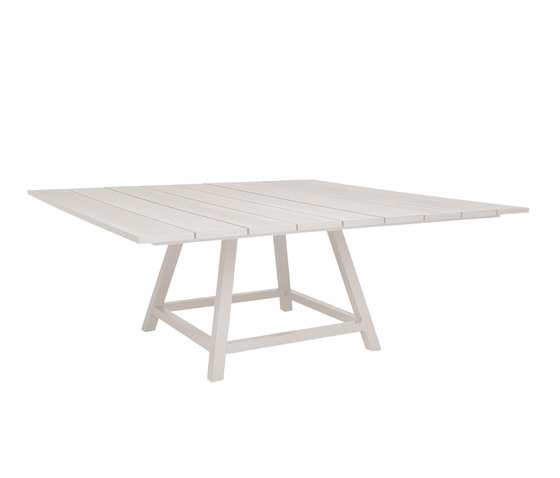 DOLCE VITA DINING TABLE SQUARE 160 de JANUS et Cie | Tables de repas