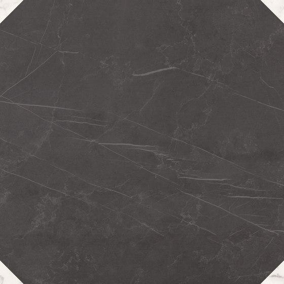 Deluxe | Dark White Tozzetto Reflex di Marca Corona | Piastrelle ceramica