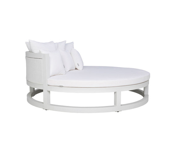 DUO DAYBED ROUND by JANUS et Cie | Sun loungers
