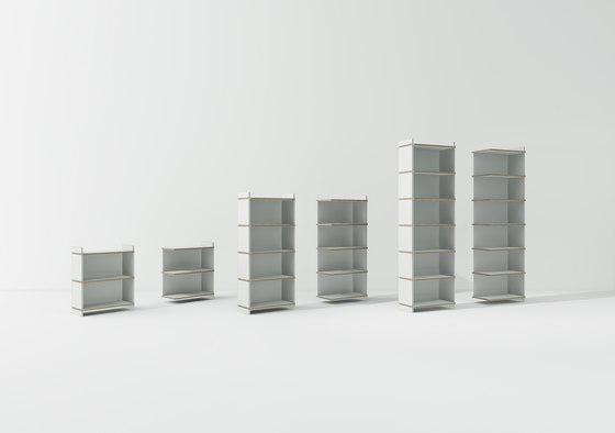 Tojo-mehrfach by Tojo Möbel | Shelving modules