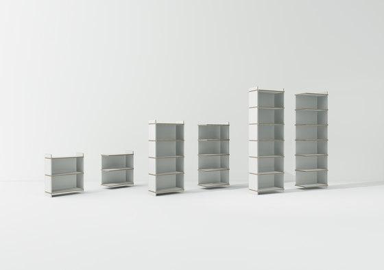 Tojo-mehrfach by Tojo Möbel | Shelving modules