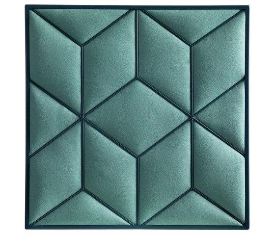 Decibel | Romb von Johanson Design | Schalldämpfende Wandsysteme