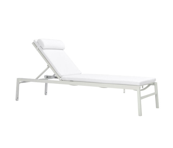 DUO MESH CHAISE LOUNGE by JANUS et Cie | Sun loungers