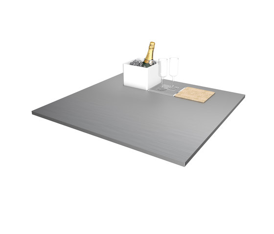 Creative Stainless Steel Worktop Prep Module by Franke Kitchen Systems | Metal panels