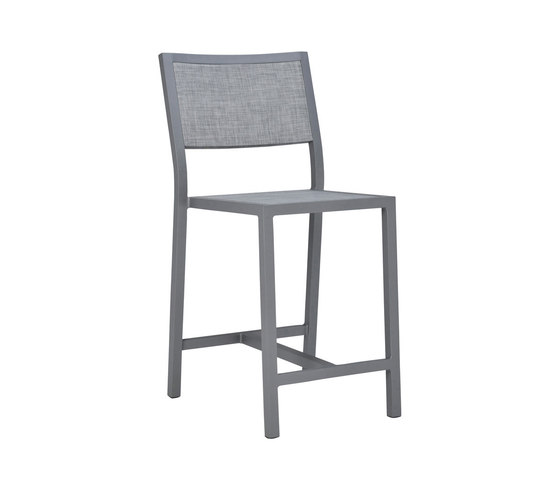 DUO MESH COUNTER STOOL by JANUS et Cie | Bar stools