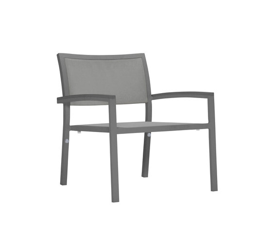 DUO MESH LOUNGE CHAIR by JANUS et Cie   Armchairs