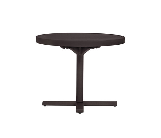 DUO SIDE TABLE ROUND 53 de JANUS et Cie | Tables de repas
