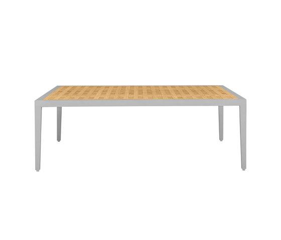 HATCH COCKTAIL TABLE SQUARE 106 di JANUS et Cie | Tavolini bassi