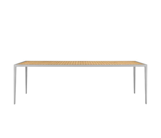 HATCH DINING TABLE RECTANGLE 249 by JANUS et Cie | Dining tables