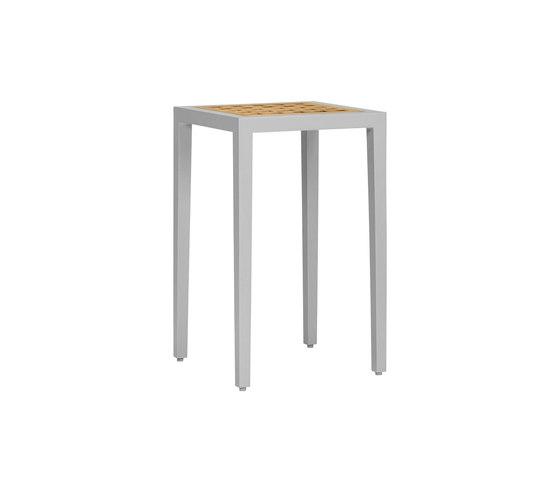 HATCH SPOT SIDE TABLE SQUARE 35 di JANUS et Cie | Tavolini alti