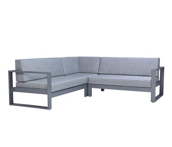 MATISSE MODULE 2 SEAT LEFT by JANUS et Cie | Modular seating elements