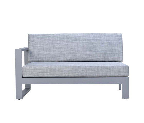 MATISSE MODULE 2 SEAT RIGHT by JANUS et Cie | Modular seating elements