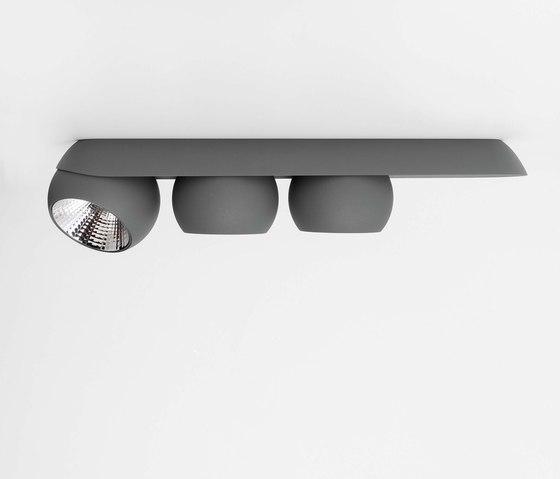 Marbul 3x di Modular Lighting Instruments | Lampade parete