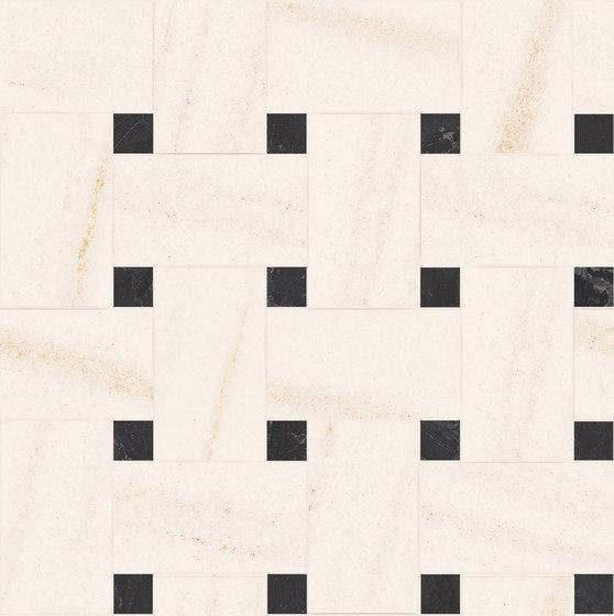 Newluxe Floor | Tessera Treccia Reflex White by Marca Corona | Ceramic tiles
