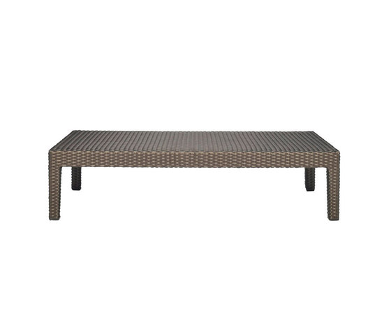 QUINTA FULLY WOVEN COCKTAIL TABLE RECTANGLE 110 by JANUS et Cie | Coffee tables