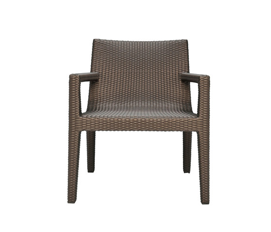 QUINTA FULLY WOVEN LOUNGE CHAIR di JANUS et Cie | Poltrone