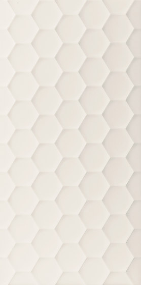 4D | Hexagon White Dek by Marca Corona | Ceramic tiles