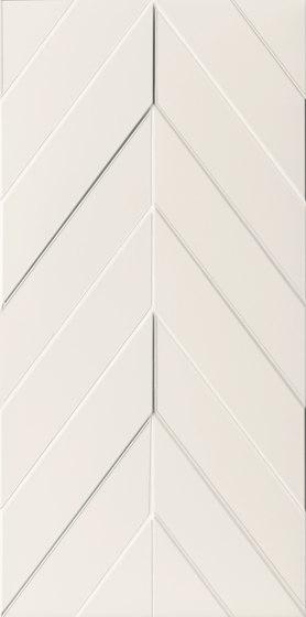 4D | Chevron White Dek by Marca Corona | Ceramic tiles