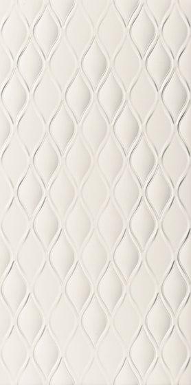 4D | Drop White Dek di Marca Corona | Piastrelle ceramica
