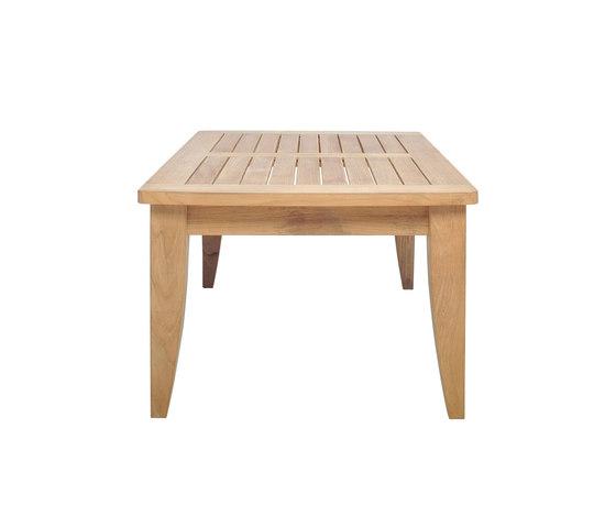 RELAIS COCKTAIL TABLE RECTANGLE 110 de JANUS et Cie | Mesas de centro