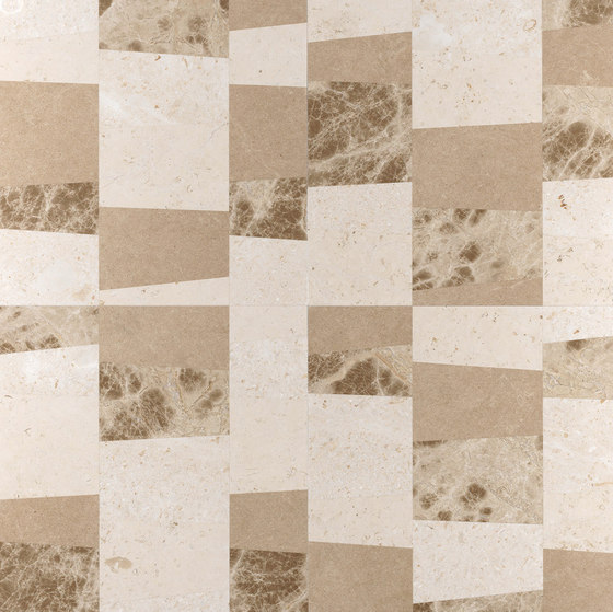 Opus | Piano chantilly di Lithos Design | Lastre pietra naturale