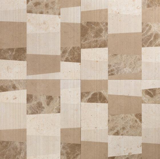 Opus | Piano chantilly de Lithos Design | Panneaux en pierre naturelle