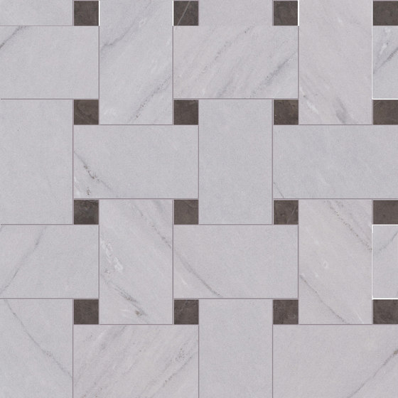 Deluxe | Grey Tess Treccia by Marca Corona | Ceramic tiles