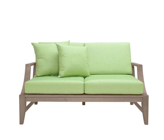 RELAIS SOFA 2 SEAT by JANUS et Cie | Garden sofas