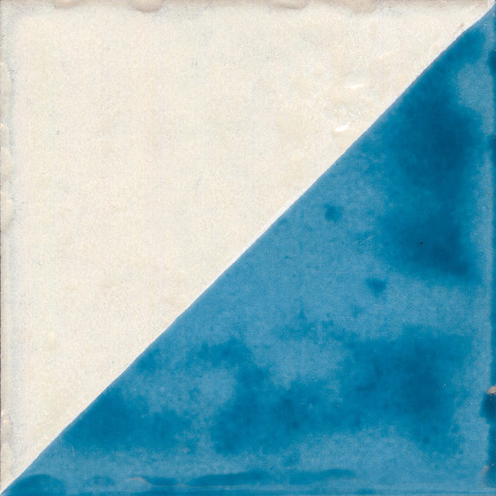 Jolie | Blanc Turquoise Triangolo by Marca Corona | Floor tiles