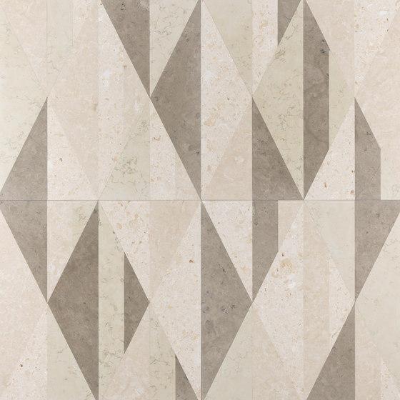Opus | Tangram anice di Lithos Design | Lastre pietra naturale