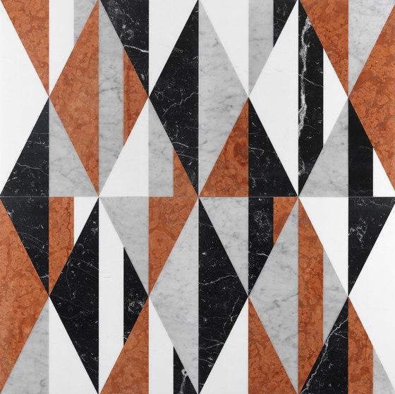 Opus | Tangram memphis di Lithos Design | Lastre pietra naturale