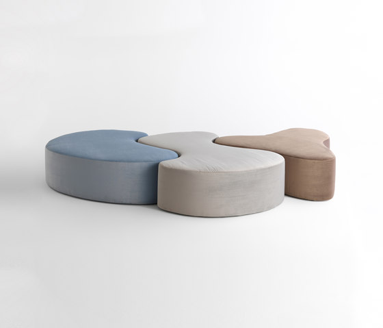 Nina | Pinta | Santa Maria by CASAMANIA & HORM | Modular seating elements